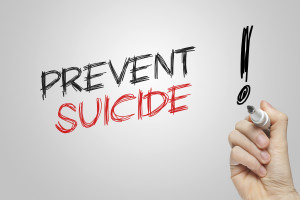 Hand writing prevent suicide